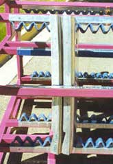 Coated Steel Dunnage